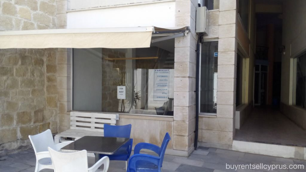 Paphos Shop - Commercial For Rent